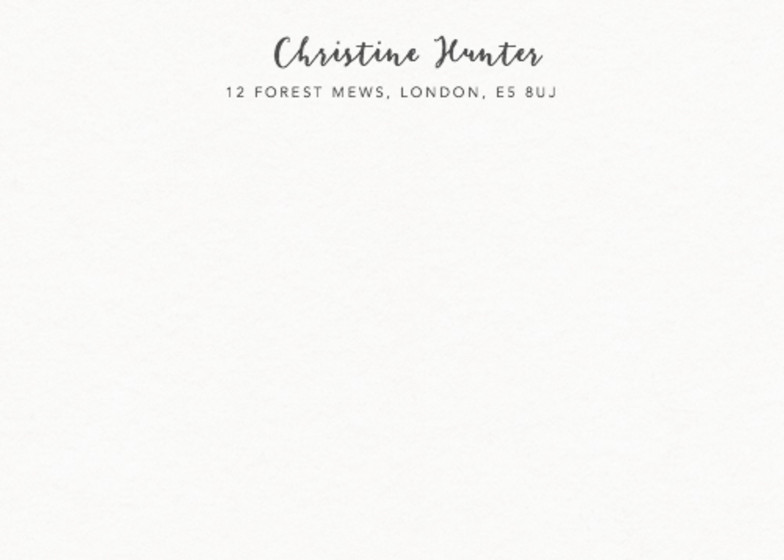 Script | Personalised Stationery Set