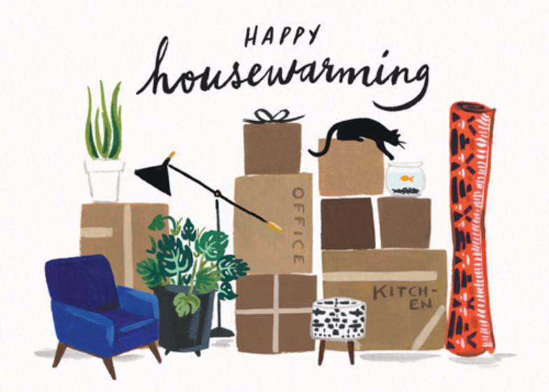Happy Housewarming   Personalised Congratulations Card