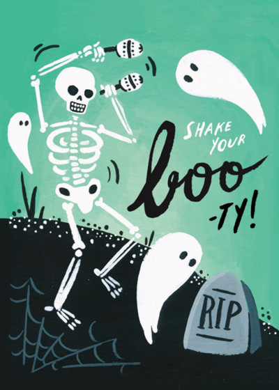 Shake Your Boo-ty | Personalised Greeting Card