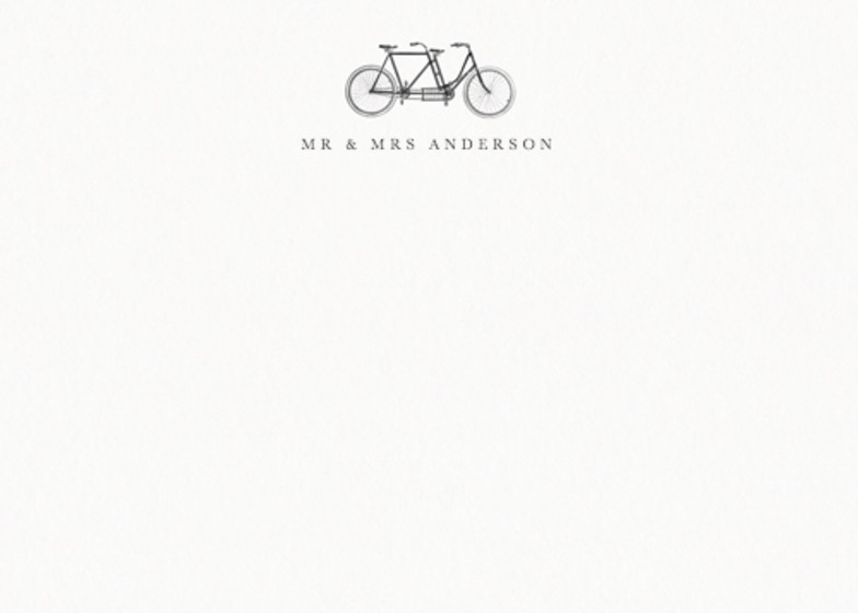 Vintage Vélo | Personalised Stationery Set