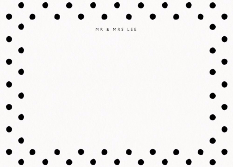 Painted Polka Dot | Personalised Stationery Set