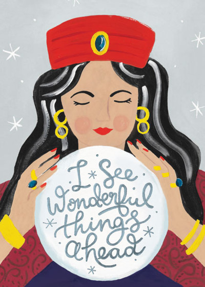 Fortune Teller | Personalised Greeting Card