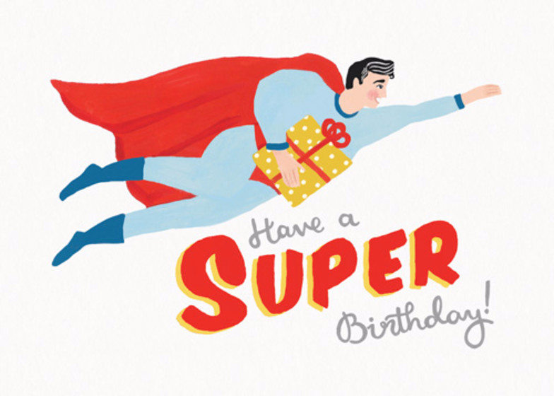 Super Birthday | Personalised Birthday Card