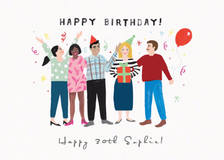 Birthday Party | Personalised Birthday Card