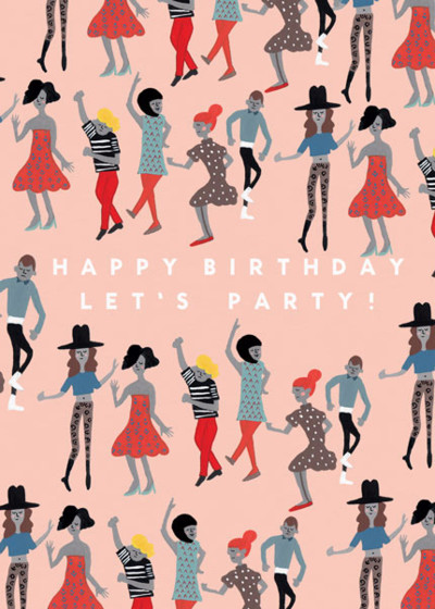 Dance Party | Personalised Birthday Card