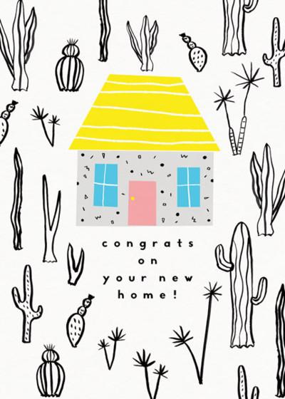 Casita | Personalised Congratulations Card