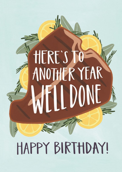 Well Done Birthday | Personalised Birthday Card