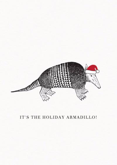 Christmas Armadillo