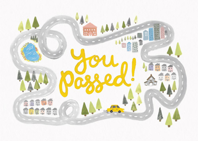 You Passed | Personalised Greeting Card