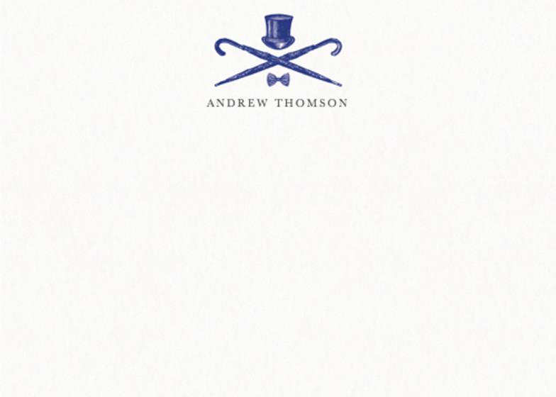 The Gentleman | Personalised Stationery Set