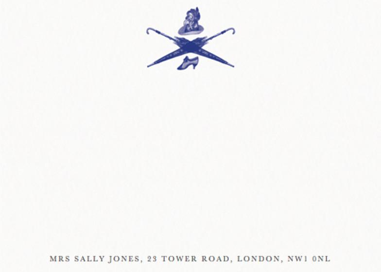 The Lady   Personalised Stationery Set