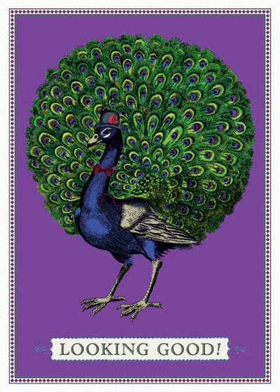 Party Peacock | Personalised Birthday Card