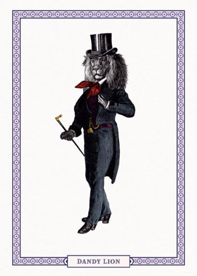 Dandy Lion | Personalised Birthday Card