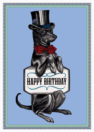 Happy Birthday Hound | Personalised Birthday Card