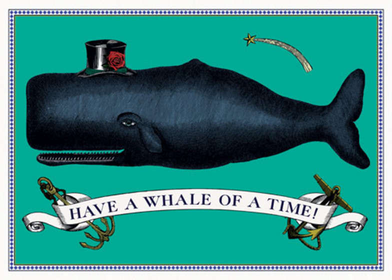 Have A Whale Of A Time | Personalised Birthday Card