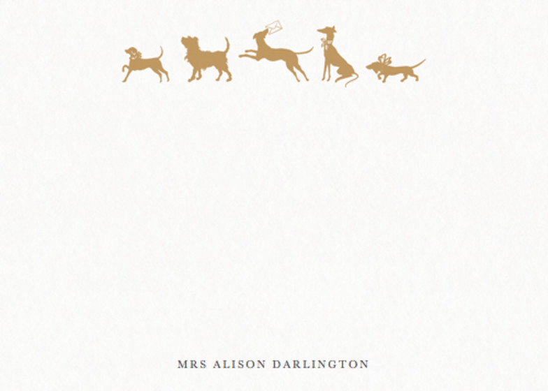 Happy Hounds | Personalised Stationery Set