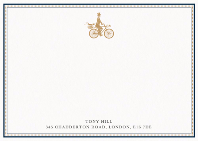 The Gentleman Rides | Personalised Stationery Set
