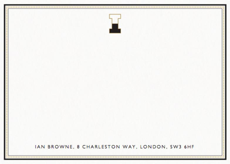 Monogram I | Personalised Stationery Set