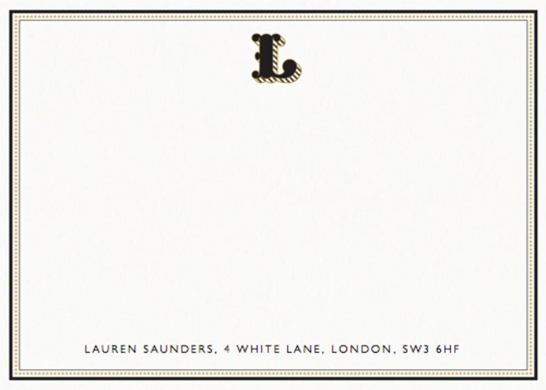 Monogram L | Personalised Stationery Set