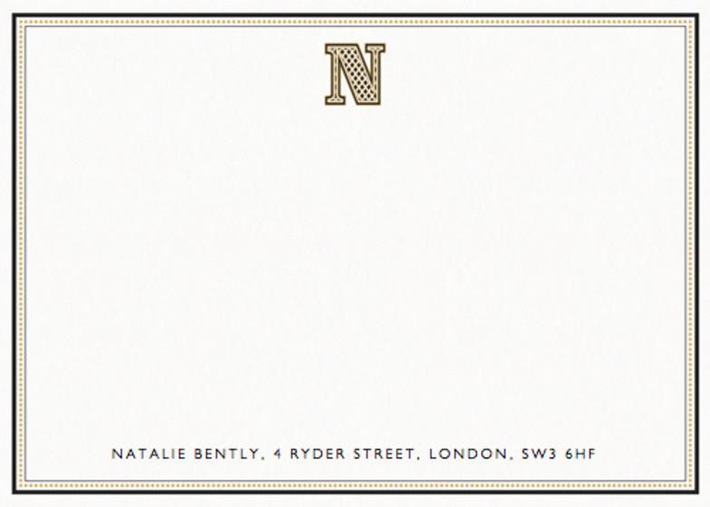 Monogram N | Personalised Stationery Set