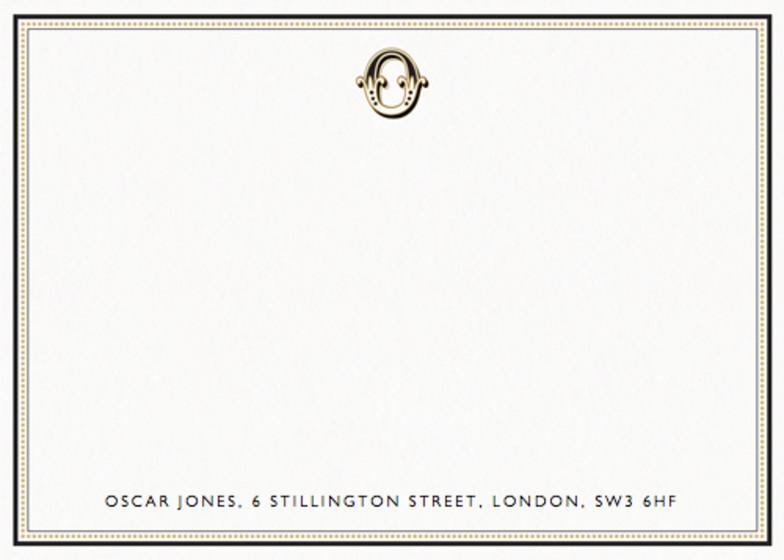 Monogram O | Personalised Stationery Set