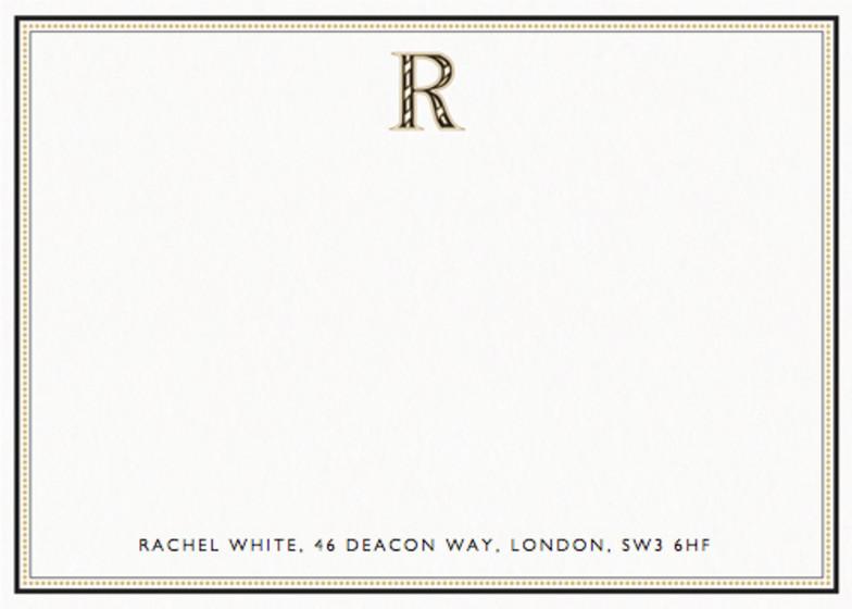 Monogram R | Personalised Stationery Set