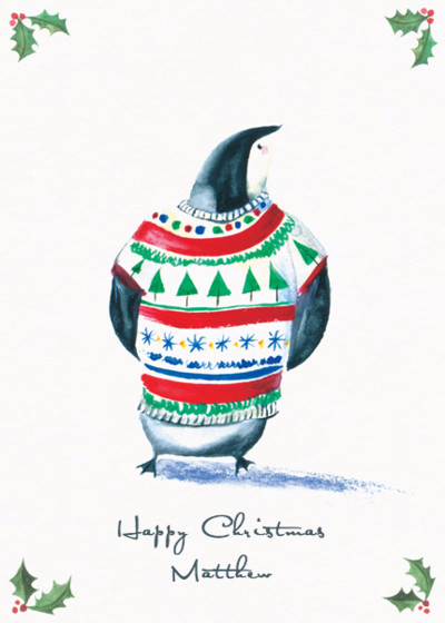 Christmas Jumper Penguin