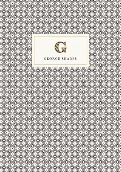 Monogramme G | Personalised Lined Notebook