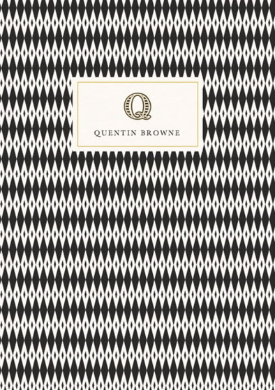 Monogramme Q | Personalised Lined Notebook