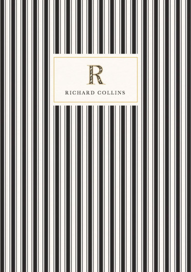 Monogramme R | Personalised Lined Notebook
