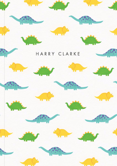 Dinosaurs | Personalised Lined Notebook