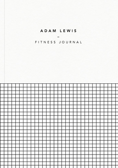 Demi Grid | Personalised Lined Notebook
