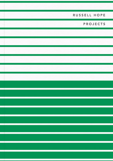 Green Double Stripe | Personalised Lined Notebook