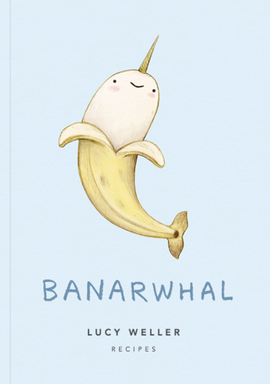 Banarwhal | Personalised Lined Notebook
