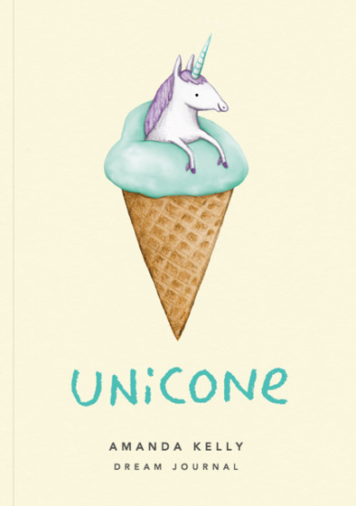 Unicone | Personalised Lined Notebook