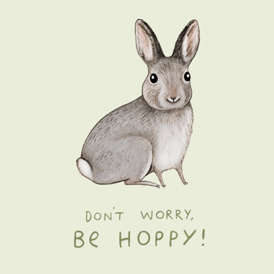 Be Hoppy | Personalised Greeting Card