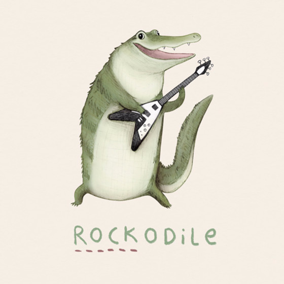 Rockodile | Personalised Birthday Card