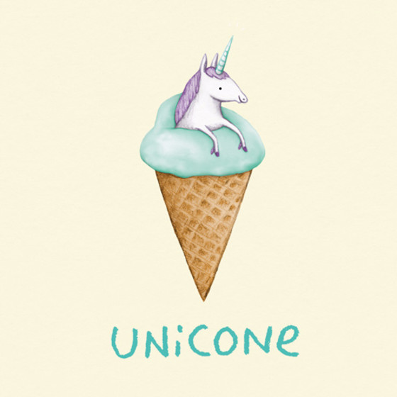 Unicone | Personalised Birthday Card