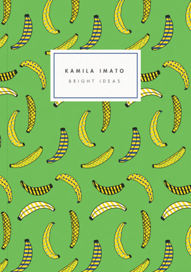 Banana Party | Personalised Lined Notebook