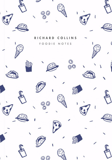 Fast Food | Personalised Lined Notebook