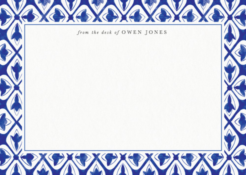 Temara Mosaic | Personalised Stationery Set