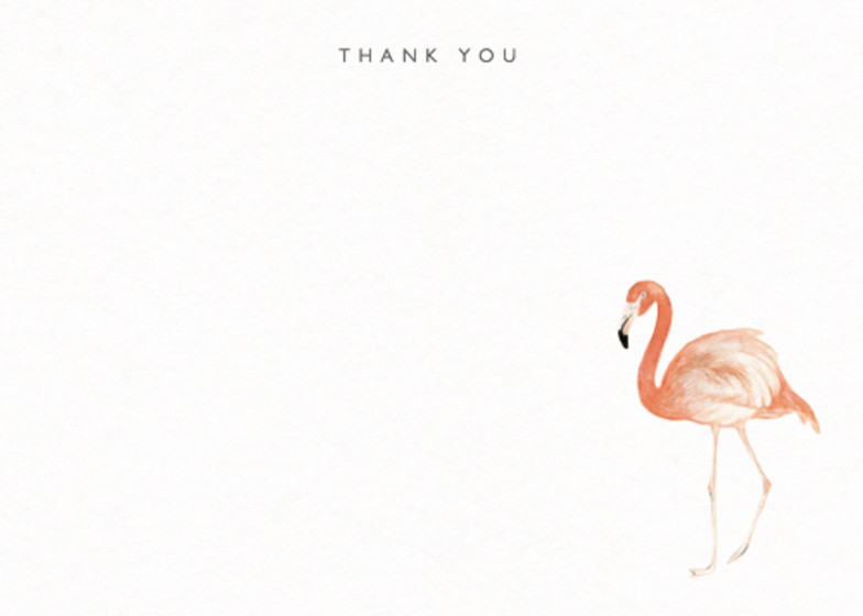 Pink Flamingo | Personalised Stationery Set
