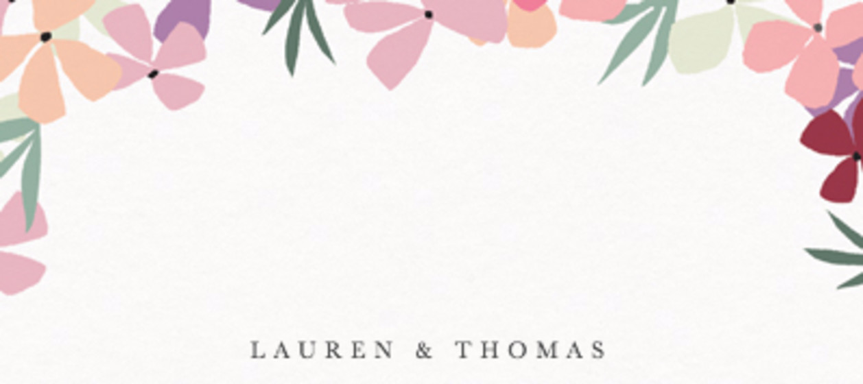 Hortensia Pink | Personalised Place Name