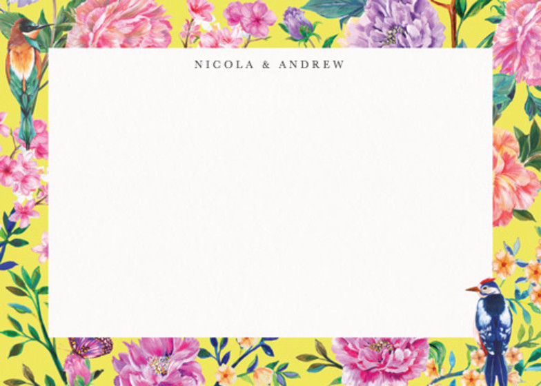 Duchess Garden | Personalised Stationery Set