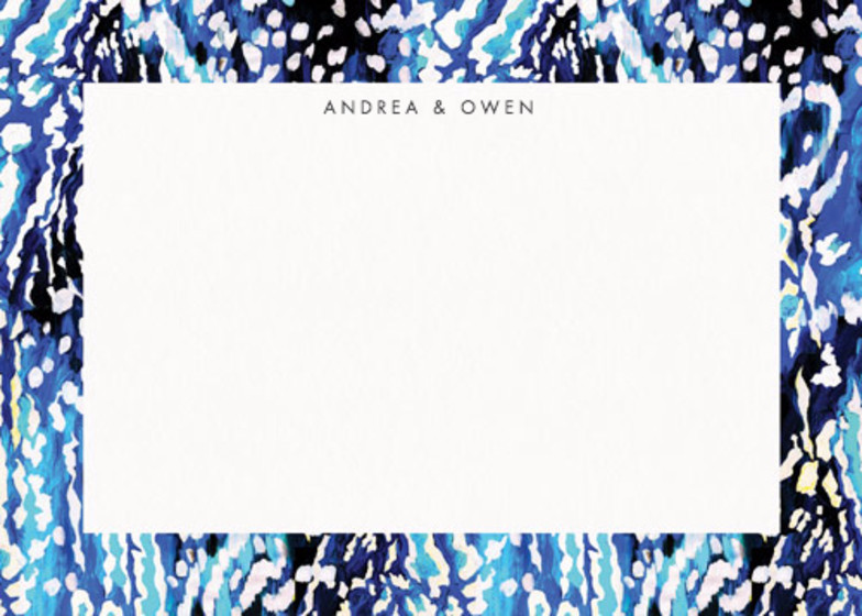 Akita Blue | Personalised Stationery Set