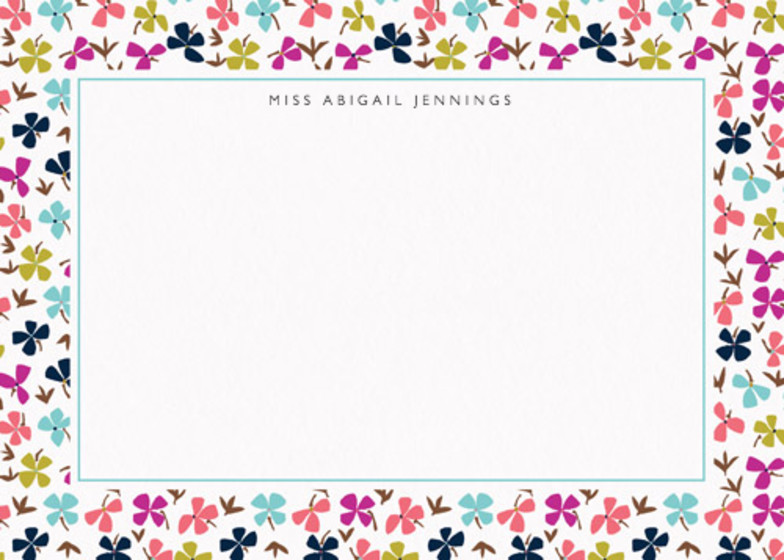 Hydrangea Scatter | Personalised Stationery Set
