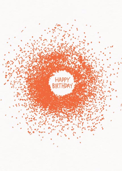 Birthday Explosion | Personalised Birthday Card
