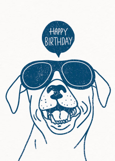 Dog Party | Personalised Birthday Card