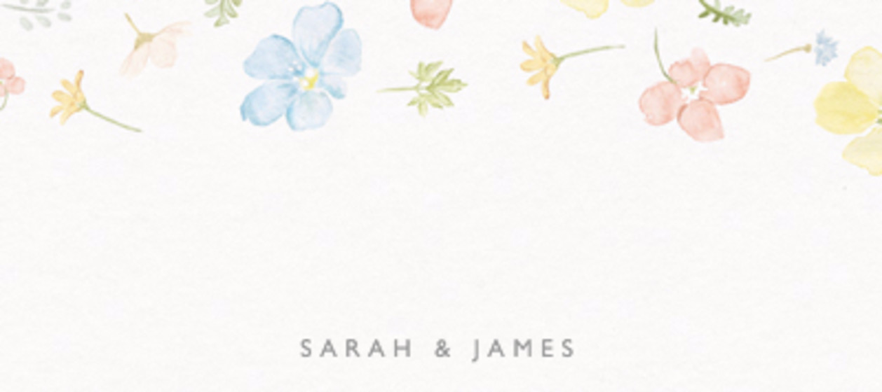 Petite Floral | Personalised Place Name