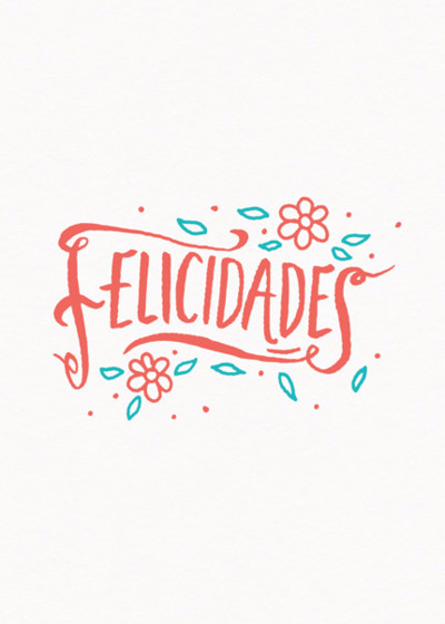 Felicidades | Personalised Congratulations Card